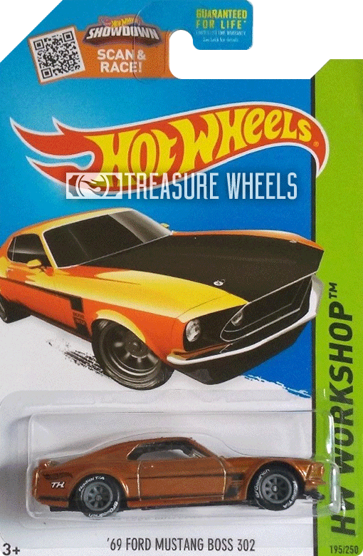 '69 Ford Mustang Boss 302