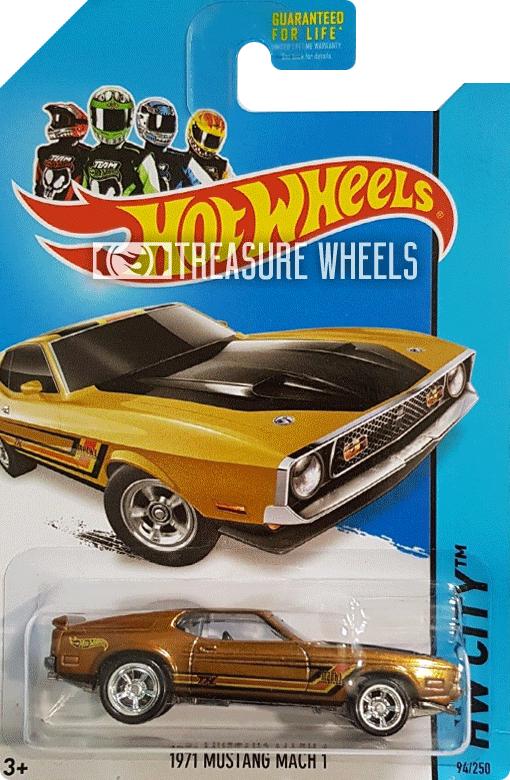 2014 - 1971 Mustang Mach 1