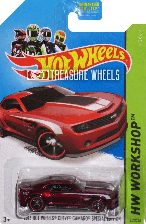 2014 - 2013 Hot Wheels Chevy Camaro Special Edition