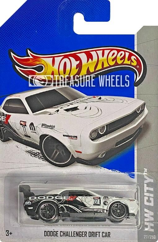 2013 Dodge Challenger Drift Car