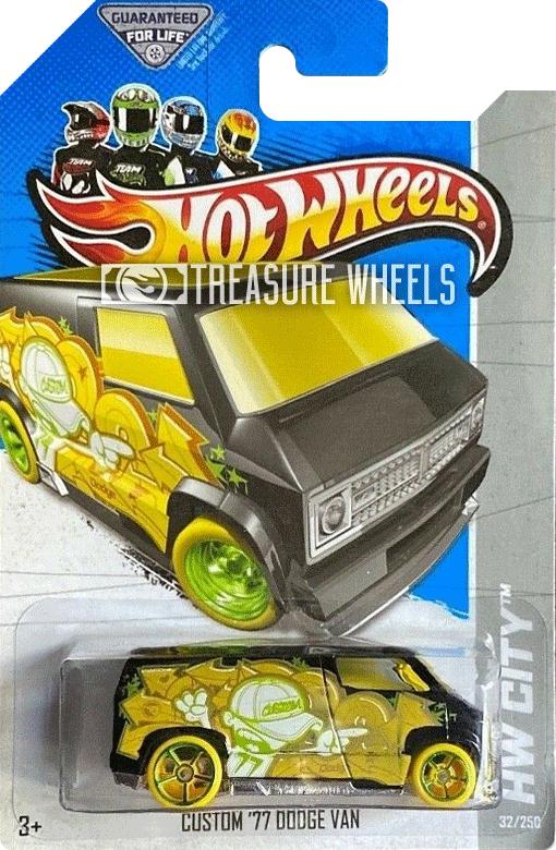 2013 custom '77 dodge van